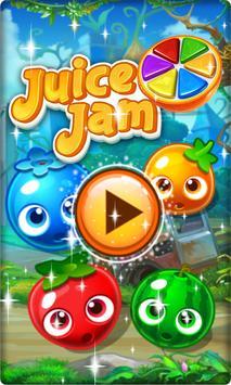 Juice Jam Deluxe Match-3 New! poster