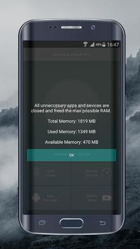 Mobile Optimizer & Cleaner تصوير الشاشة 3