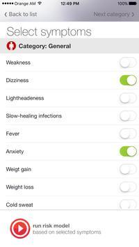 YouShield Symptom Checker apk screenshot