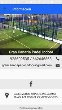 Gran Canaria Padel Indoor poster