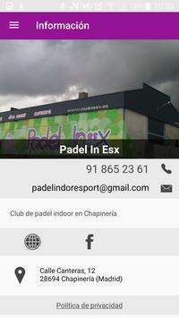 Padel In Esx apk screenshot