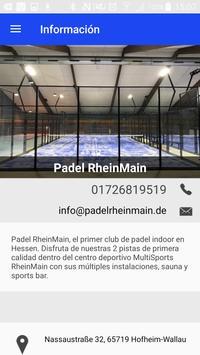 Padel RheinMain apk screenshot