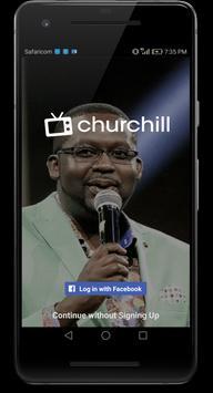 Churchill Tv-poster