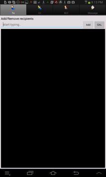 Symantec Work Mail apk screenshot
