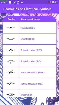 Electronic And Electrical Symbols screenshot 2
