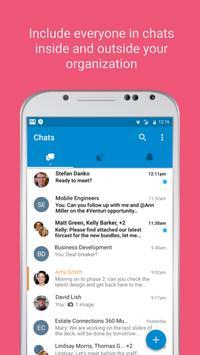 Symphony.com secure messaging apk screenshot
