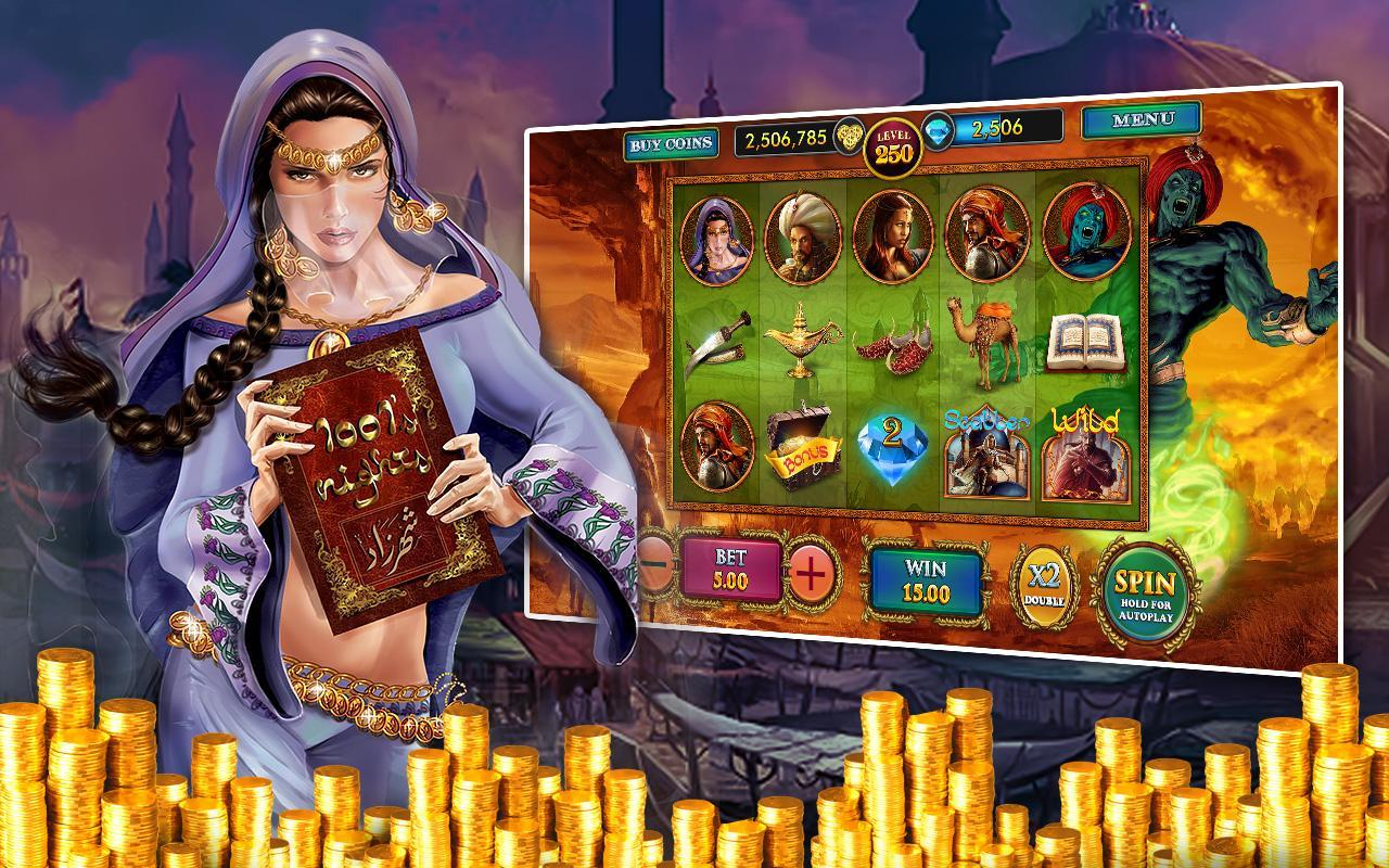 Arabian Nights Slots - Spela Arabian Nights Slots gratis