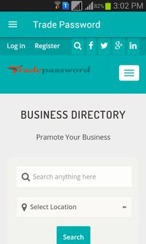 Trade Password Directory poster