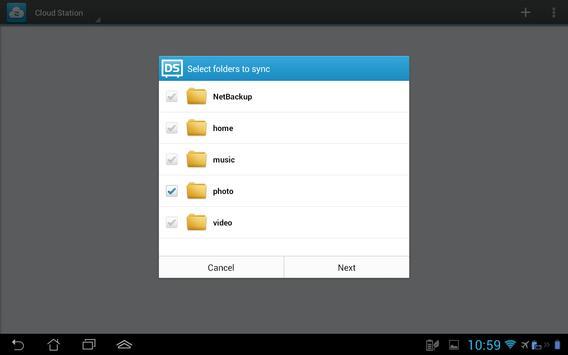 DS cloud apk screenshot
