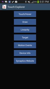 TouchExplorer - Touch Tester poster
