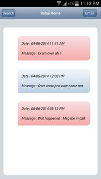 SMS Conversation 2 Email screenshot 1