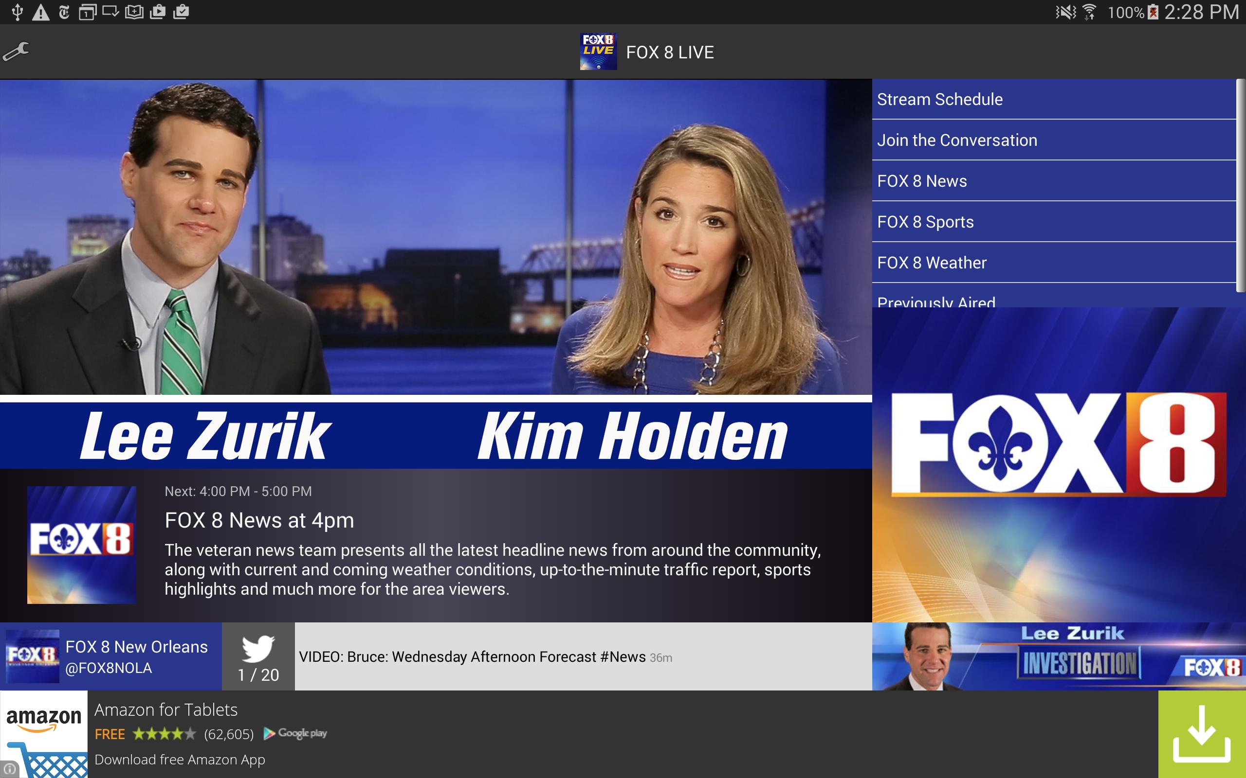 FOX 8 LIVE for Android - APK Download