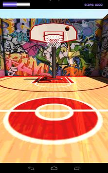 BASKETBALL FLICK ARCADE apk screenshot