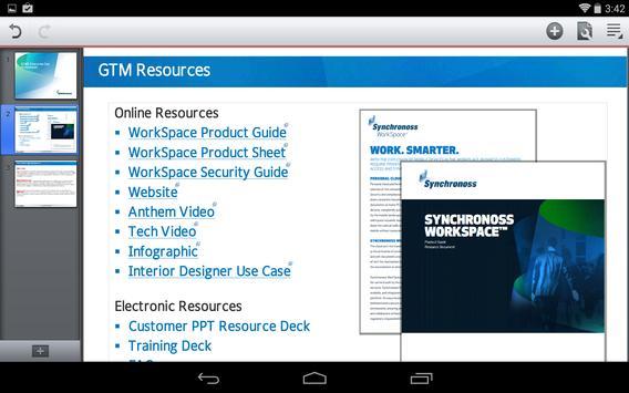 Synchronoss WorkSpace screenshot 17