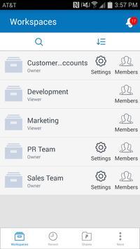 Synchronoss WorkSpace screenshot 3