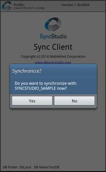 SyncStudio Sync Client apk screenshot