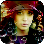 Bubbles Photo Effect icon
