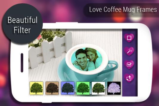 Love Coffee Mug Frames apk screenshot