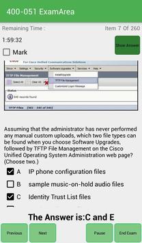 EA 400-051 Cisco Exam screenshot 4