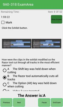 EA 9A0-318 Adobe Exam screenshot 4