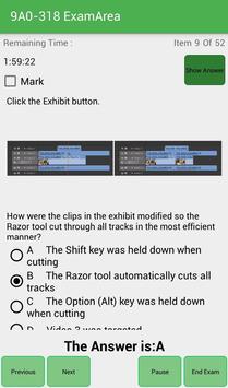 EA 9A0-318 Adobe Exam screenshot 9