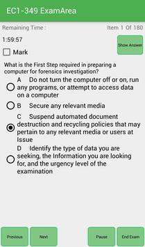EA EC1-349 EC-Council Exam screenshot 2