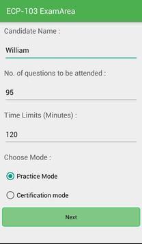 EA ECP-103 Ericsson Exam screenshot 1