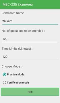 EA MSC-235 Motorola Exam apk screenshot