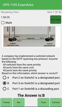 EA HP0-Y49 HP Exam screenshot 4