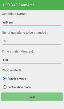 EA HP0-Y49 HP Exam screenshot 6