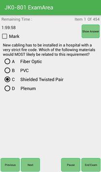 EA JK0-801 CompTIA Exam screenshot 2