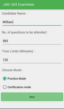 EA JN0-343 Juniper Exam screenshot 1