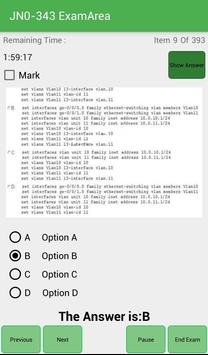 EA JN0-343 Juniper Exam screenshot 9