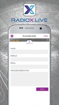 Radio X Live apk screenshot