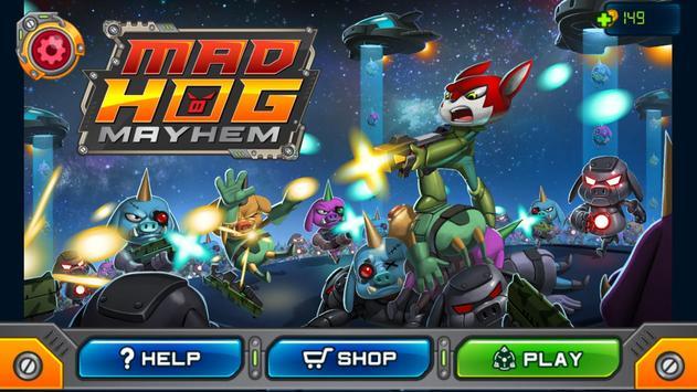 Mad Hog Mayhem poster