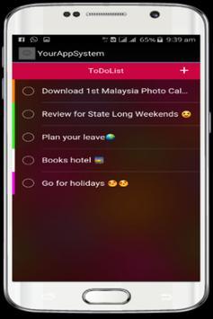 Malaysia Calendar HD Photo screenshot 3