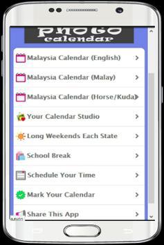 Malaysia Calendar HD Photo screenshot 1