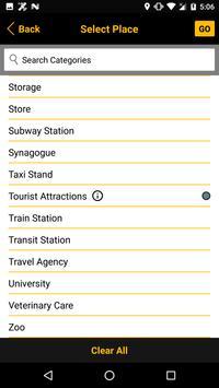 On the Way, a travel planner apk screenshot