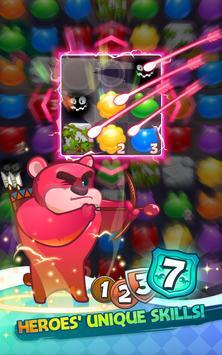 Puzzle x Heroes screenshot 4