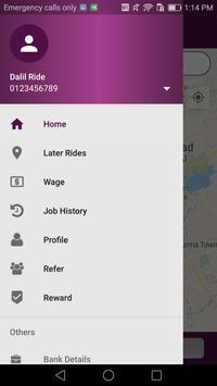Dalil Chauffeur apk screenshot