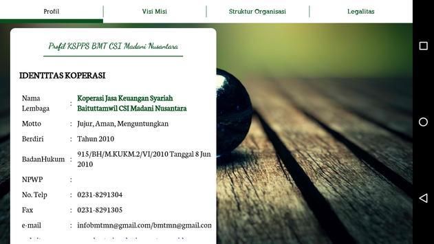 CSI Madani Nusantara apk screenshot