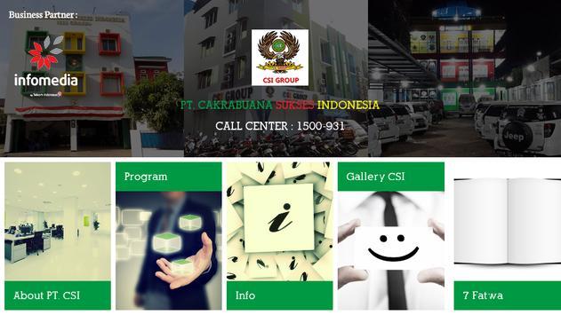 CSI Group apk screenshot