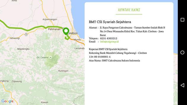CSI Syariah Sejahtera apk screenshot