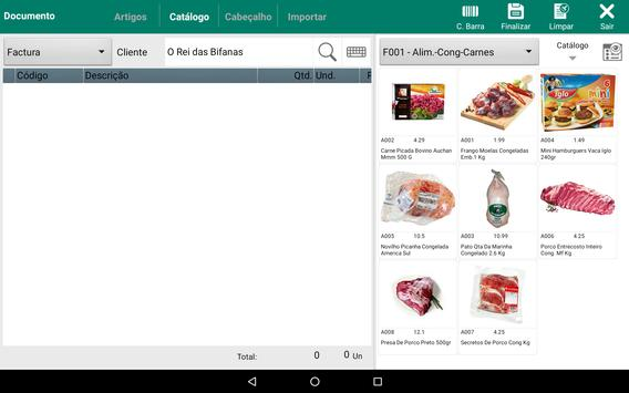 Demo MSS - Mobile Sales System screenshot 13