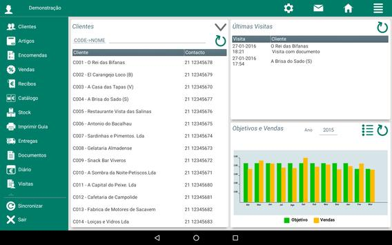 Demo MSS - Mobile Sales System screenshot 2