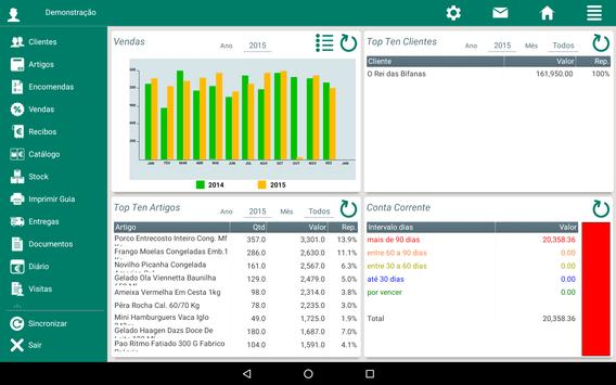 Demo MSS - Mobile Sales System apk screenshot