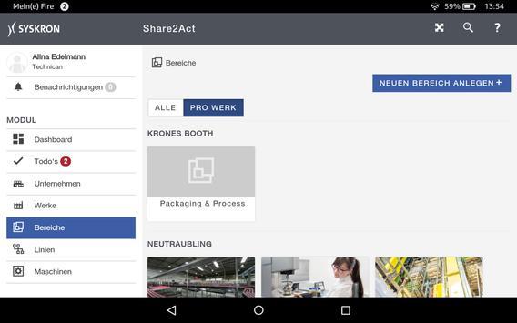 SitePilot Share2Act screenshot 1