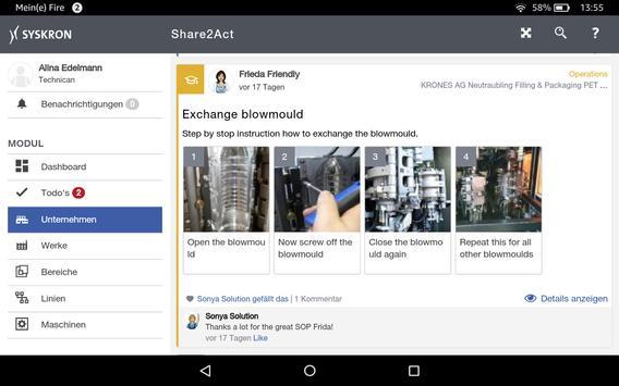 SitePilot Share2Act screenshot 2