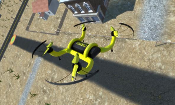 Drone Lander Simulator 3D Demo - Cool Drones Game apk screenshot