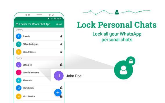 Locker for Whats Chat App screenshot 9